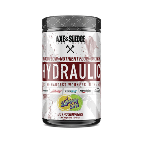 Axe & Sledge Hydraulic Pre Workout 380g - gymstop
