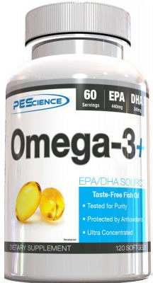PES Omega-3+ 120 softgels