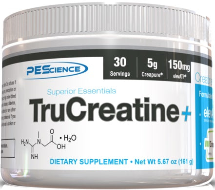 PES TruCreatine+ Unflavored 161g - gymstop