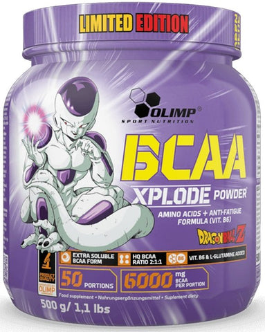 Olimp Nutrition BCAA Xplode Limited Edition Dragon Ball Forest Fruit 500g - gymstop