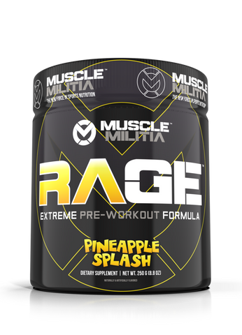 Muscle Militia Rage Pre Workout 250g