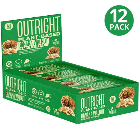 MTS Nutrition Outright Bar Plant Based 12 x 60g - Short Dated