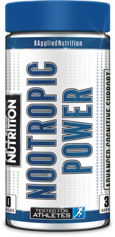 Applied Nutrition Nootropic Power 90 Tabs - gymstop