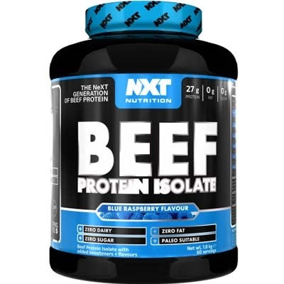 NXT Nutrition Beef Protein Isolate 1.8kg - gymstop