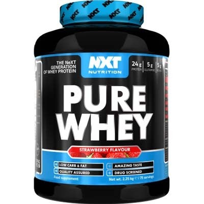 NXT Nutrition Pure Whey 2.25kg - gymstop