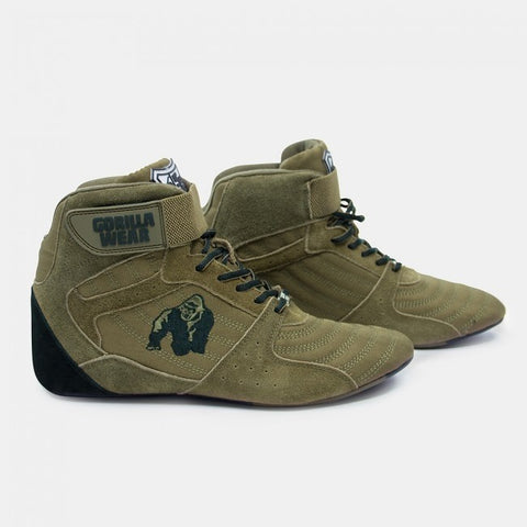 Gorilla Wear Perry High Tops Pro - Army Green - gymstop