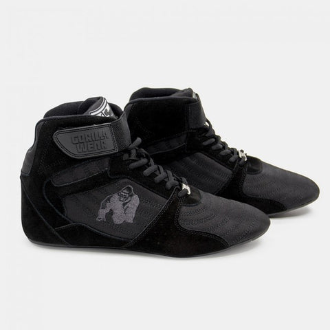 Gorilla Wear Perry High Tops Pro - Black/Black - gymstop