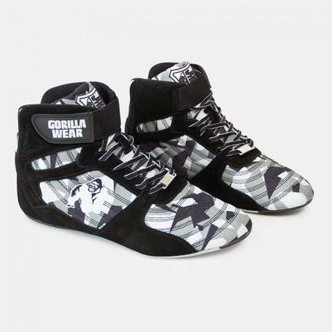 Gorilla Wear Perry High Tops Pro - Black/Grey Camo - gymstop