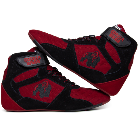 Gorilla Wear Perry High Tops Pro - Red/Black - gymstop