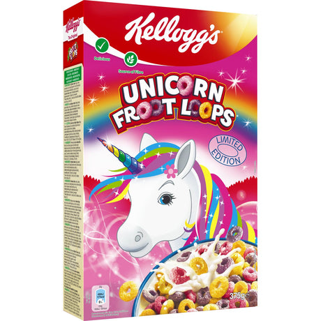 Kellog's Froot Loops Unicorn Cereal 375g
