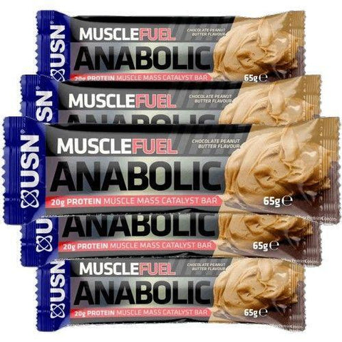 USN MUSCLE FUEL ANABOLIC BARS   - BLACK FRIDAY