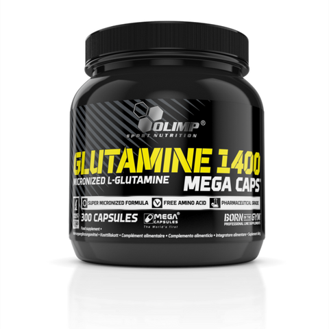 Olimp Nutrition Glutamine Mega Caps 300 Caps - gymstop