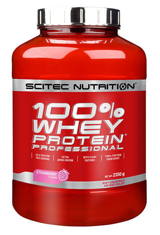 Scitec Nutrition Whey Protein Professional Strawberry 2.3kg - Clearance