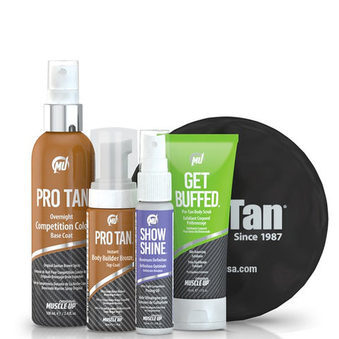Pro Tan Single Show Body Building Kit - gymstop