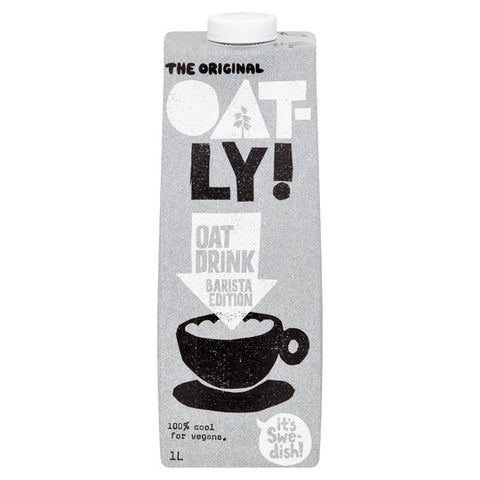 Oatly Oat Drink Barista Edition 1Litre - gymstop