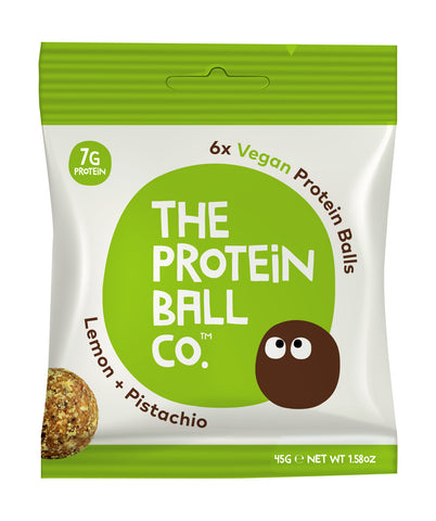 The Protein Ball Co Vegan Protein Balls 10 x 45g - gymstop