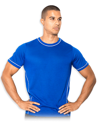 USN Mens Technical T-Shirt - Blue