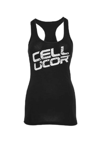 Cellucor WOMENS Stacked Stringer Vest White - gymstop