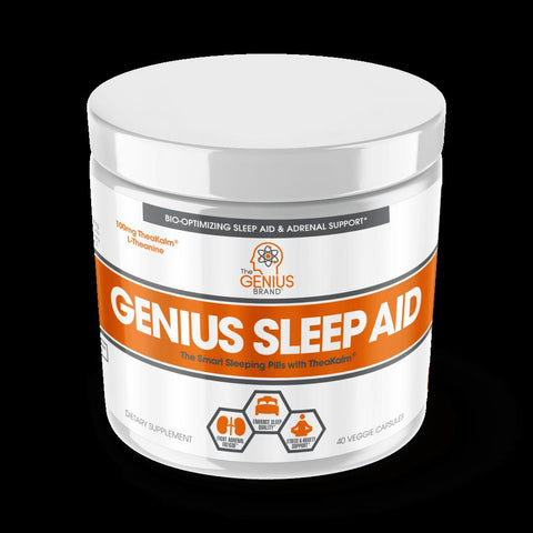 THE GENIUS BRAND Genius Sleep Aid 40 Veggie Caps
