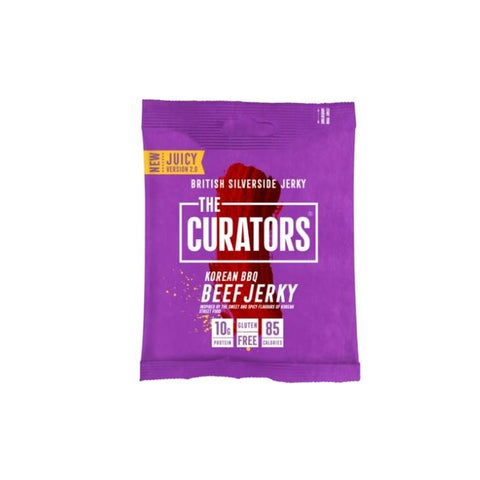 The Curators Beef Jerky 28g x 12