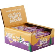 Tribe Triple Decker Bar 12 x 40g