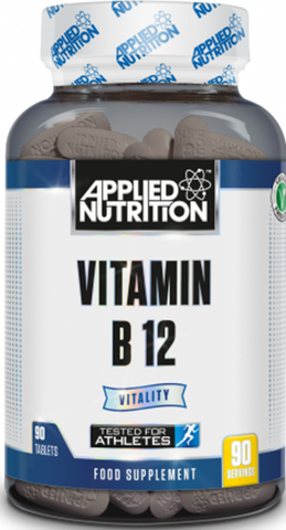 Applied Nutrition Vitamin B12 90 Tabs - gymstop