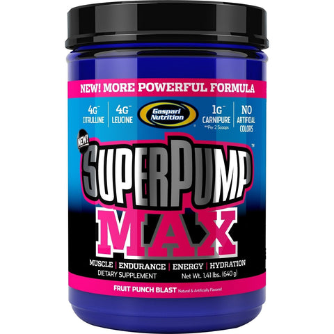 Gaspari Nutrition SuperPump Max 640g - gymstop