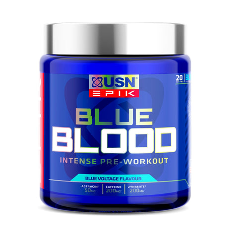 USN Blue Blood Pre Workout 380g