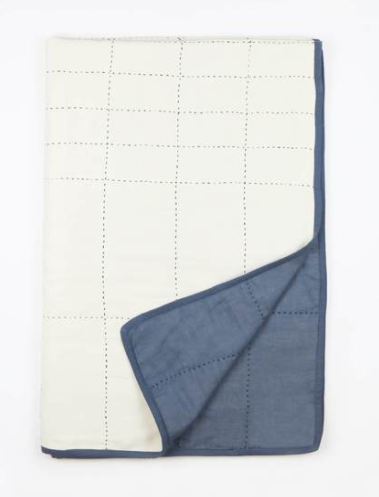 Anchal Small Slate Quilt