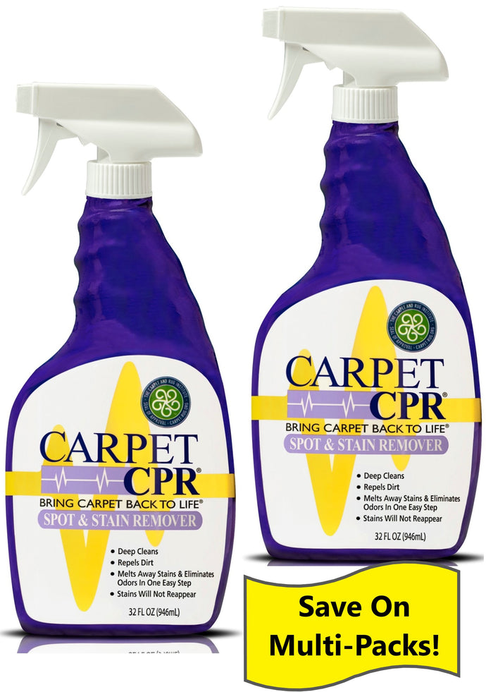 Carpet CPR Spot & Stain Remover 32oz - 2 Pack: Save on the Value 2 Pack!