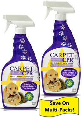 Carpet CPR Pet Stain & Odor Remover 32oz - 2 Pack: Save on the Value 2 Pack!