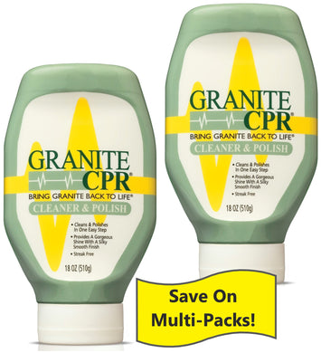 Granite CPR Cleaner & Polish 18oz - 2 Pack :  Save on the Value 2 Pack!