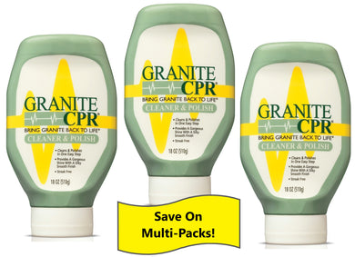 Granite CPR Cleaner & Polish 18oz - 3 Pack : Save on the Value 3 Pack!