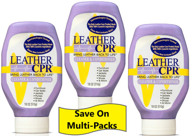 Leather CPR Cleaner & Conditioner 18oz - 3 Pack:  Save on the Value 3 Pack!