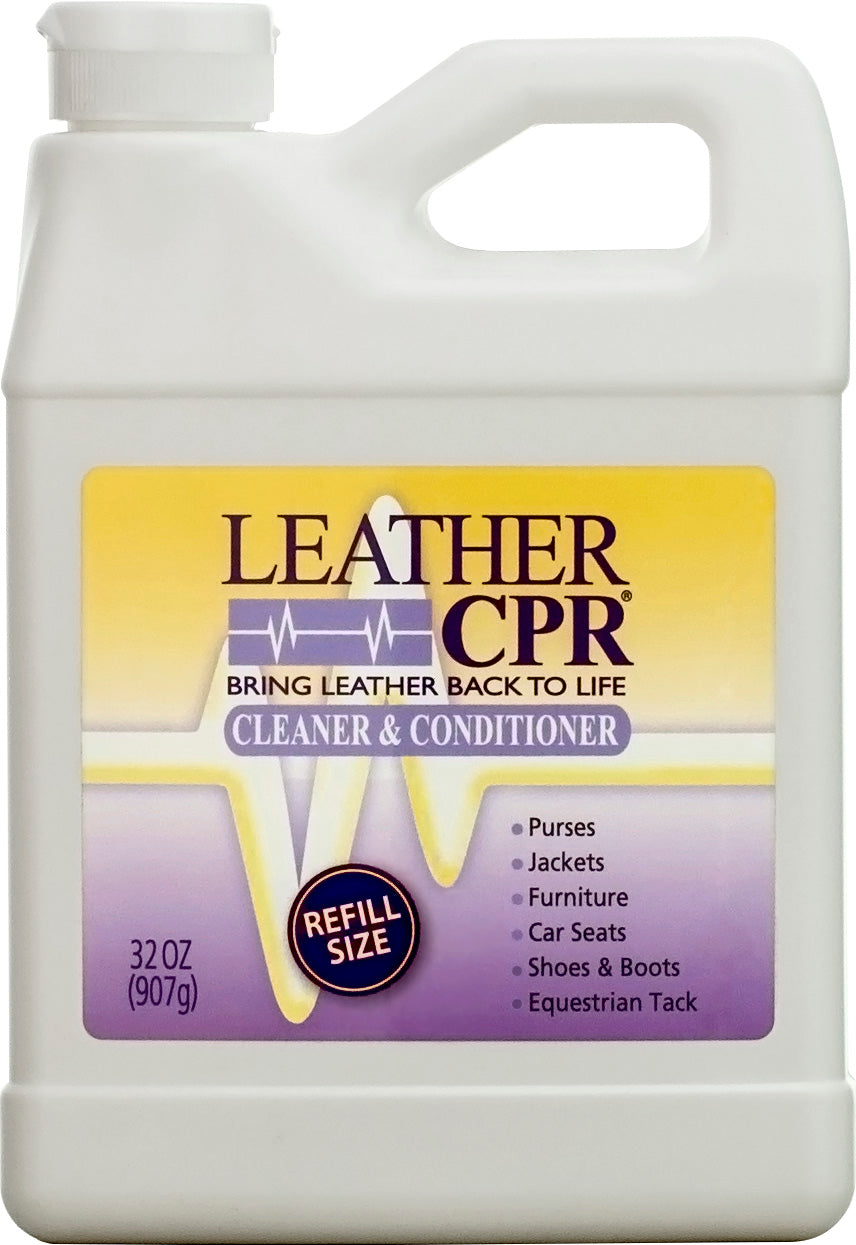 Leather CPR Cleaner & Conditioner 32oz - Free 2-3 Day Shipping
