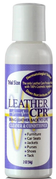 Leather CPR Cleaner & Conditioner 2oz Trial Size