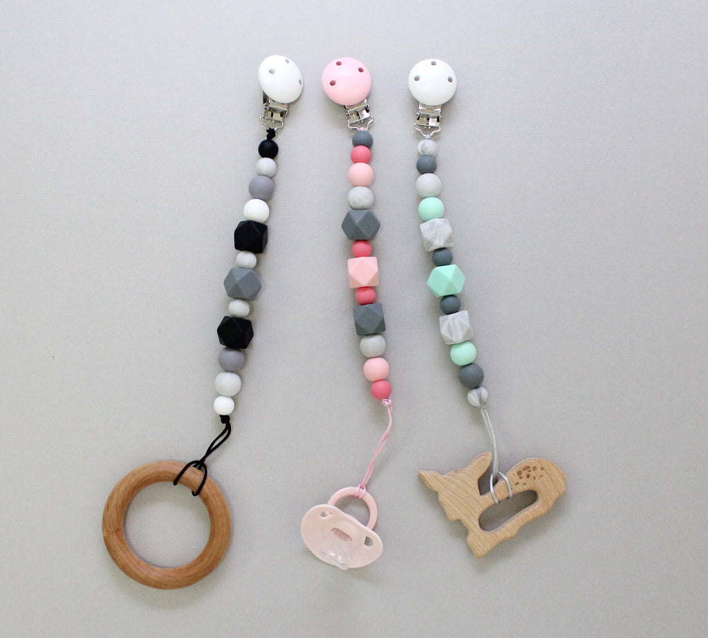 Silicone Pacifier Clips