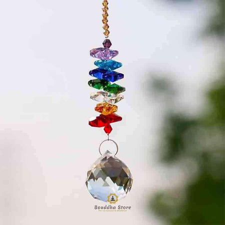 Suspension Cristal 7 chakras