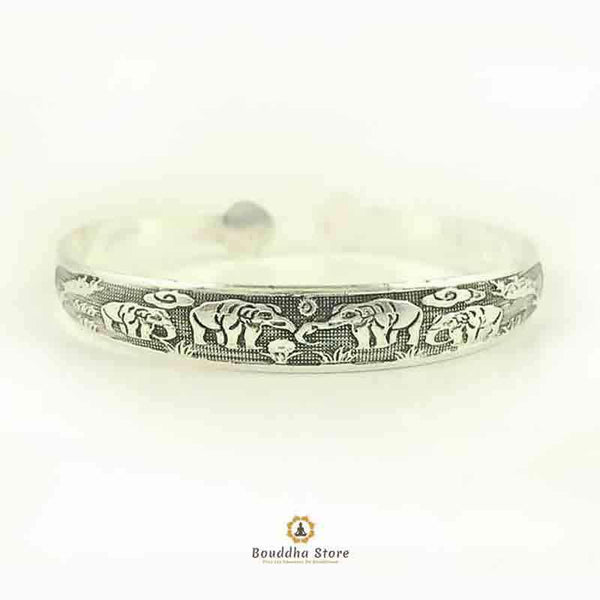 Bracciale bangle tibetano