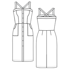 The Daiquiri Dress Pattern