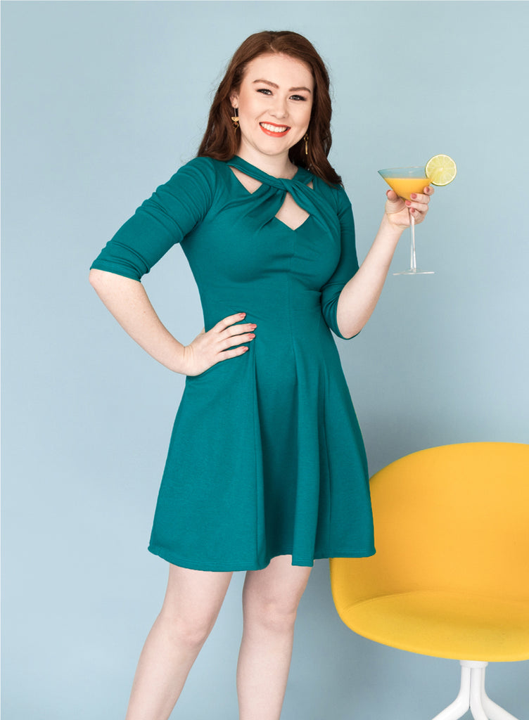 The Martini Twist Dress Pattern