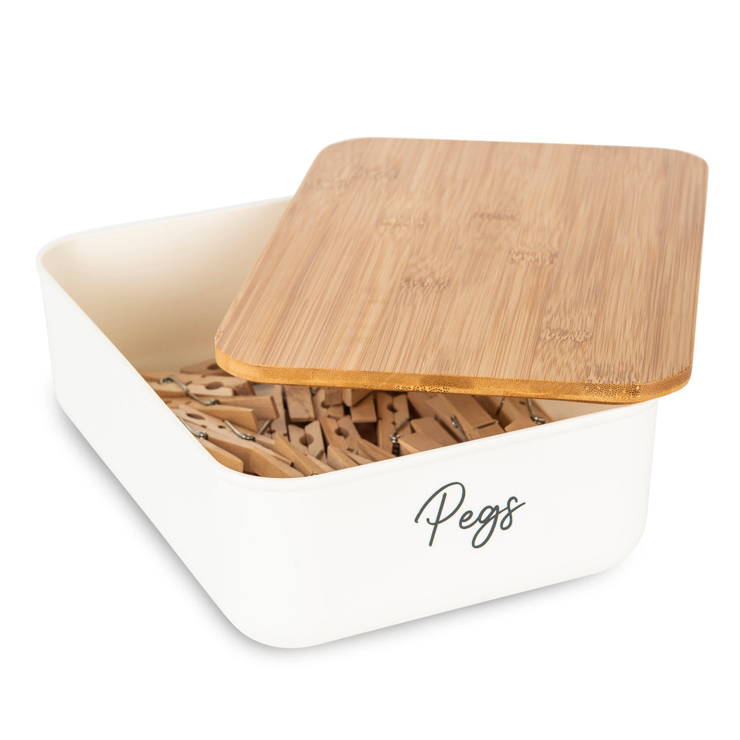 Storage Container Mini with Bamboo Lid