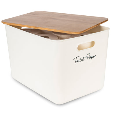 Storage Container Jumbo with Bamboo Lid