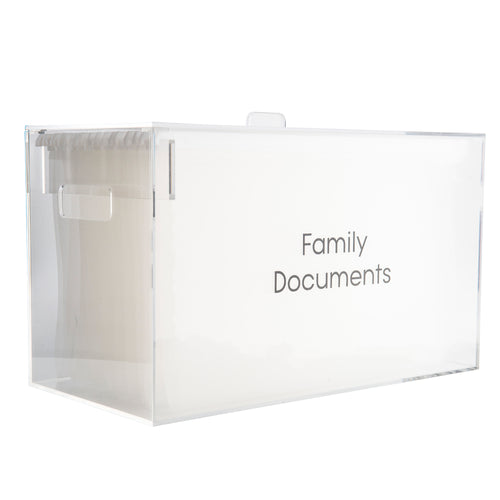 Acrylic Document Organiser ©