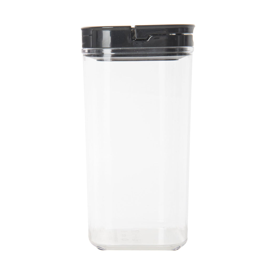 Black Flip Canister 1.7L (with FREE labels) - Little Label Co