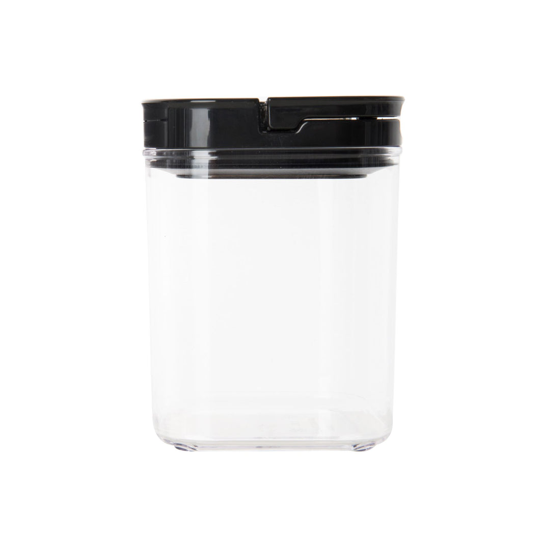 Black Flip Canister 1.1L (with FREE labels) - Little Label Co
