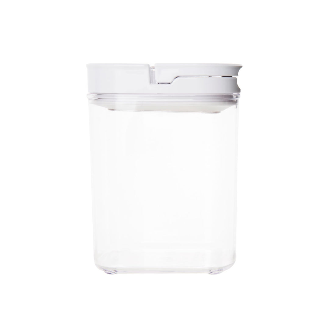 White Flip Canister 1.1L (with FREE label)
