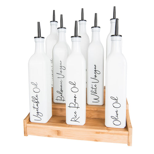 Oil & Vinegar Bottle Labels - Little Label Co