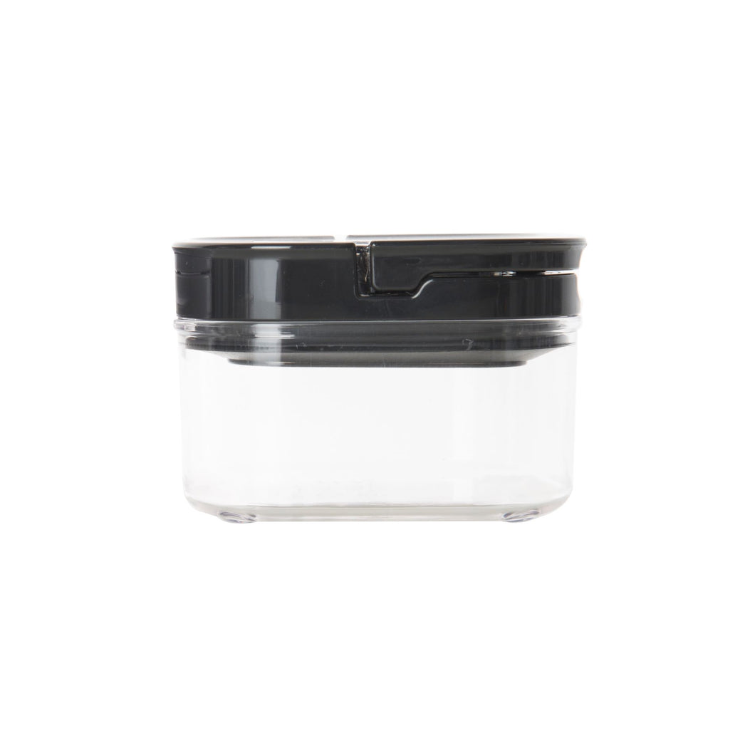 Black Flip Canister 450ml (with FREE labels) - Little Label Co