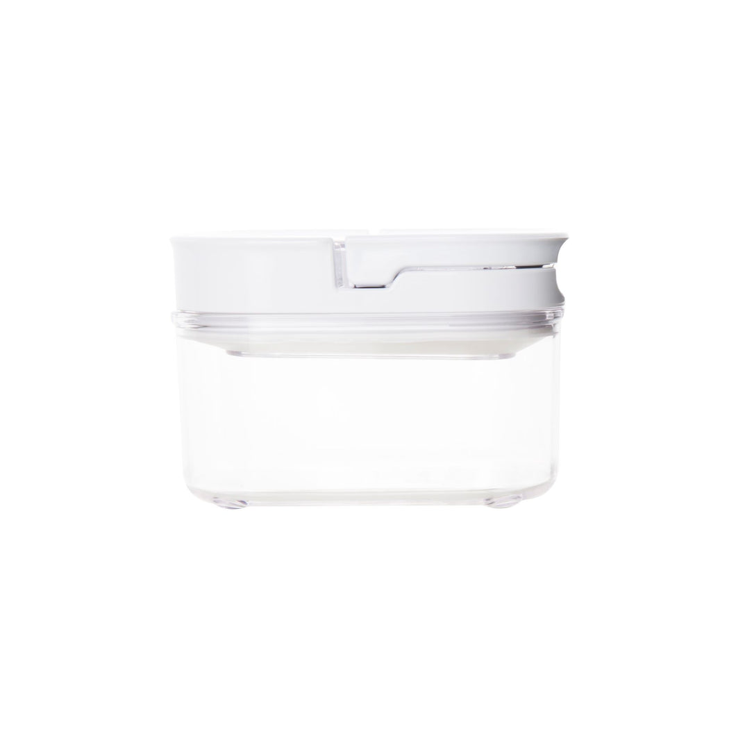 White LLC Flip Canister 450ml (with label)